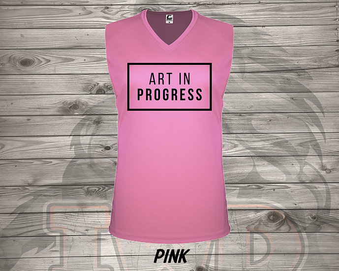 210810.4 - Art In Progress  - Ladies V- Neck Sleeve