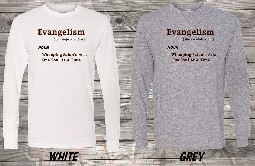210611.6 - Evangelism Long Sleeve T-Shirt