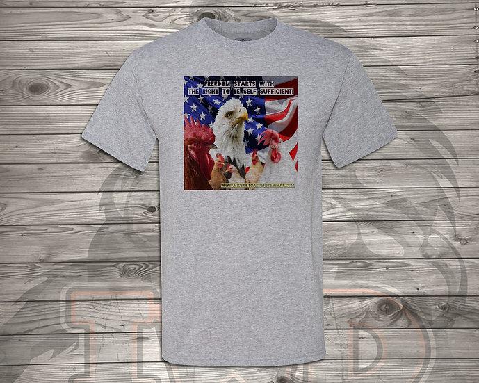 210810.7 - Freedom Starts - Unisex T-Shirt