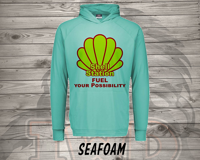 210706.5 The Shell Station - Long Sleeve Hoodie