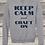 Thumbnail: 210710.1 Crystal Spangler Keep Calm and Craft On - Sweatshirt