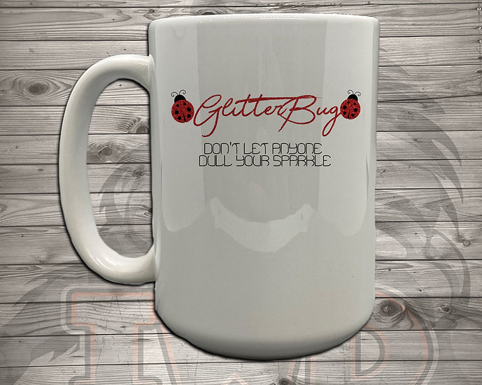 210702.1 - Glitterbug Logo - Coffee Mug