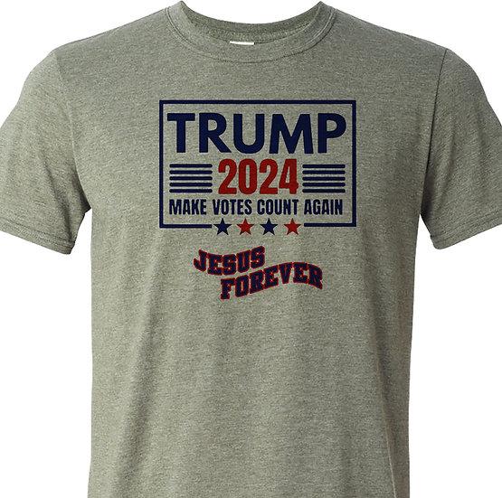 210412.3 - Trump 2024 - Make All Votes Count - Jesus Forever
