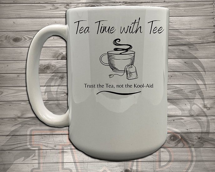 210824.1 - Tea Time with Tee - 5 Styles of Mugs