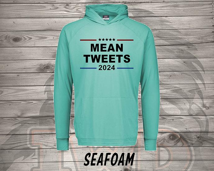 210727.2 - Mean Tweets - Long Sleeve Hoodie