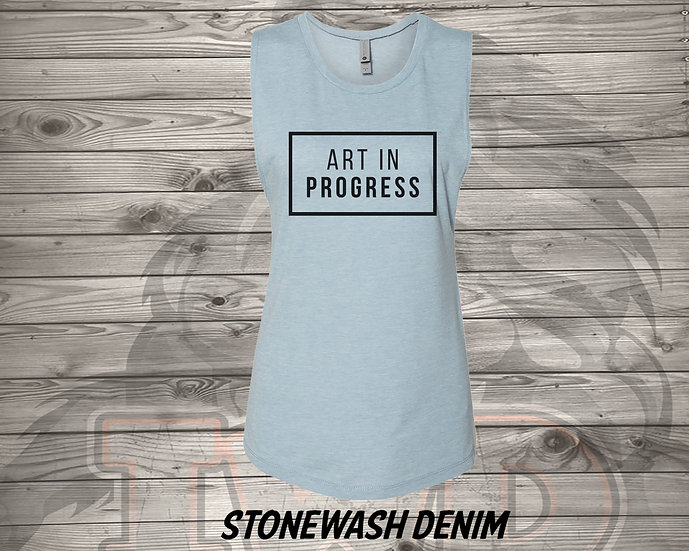 210810.4 - Art In Progress - Women's Sleeveless Tank