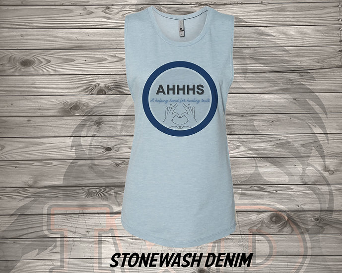 210826.1 - AHHHS Circle  - Women's Sleeveless Tank