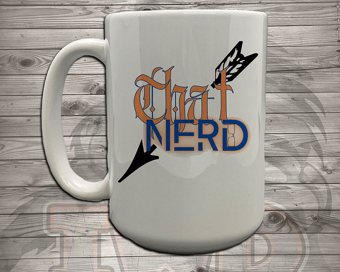210615.2 - That Nerd With Tattooes Logo - 5 Styles of Mugs