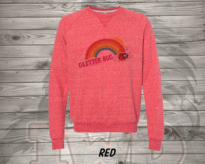 210706.11 - Glitterbug Rainbow - Sweatshirt