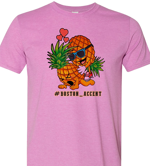 210317.1 Short Sleeve (Pineapple Play-Time) - #Boston_Accent
