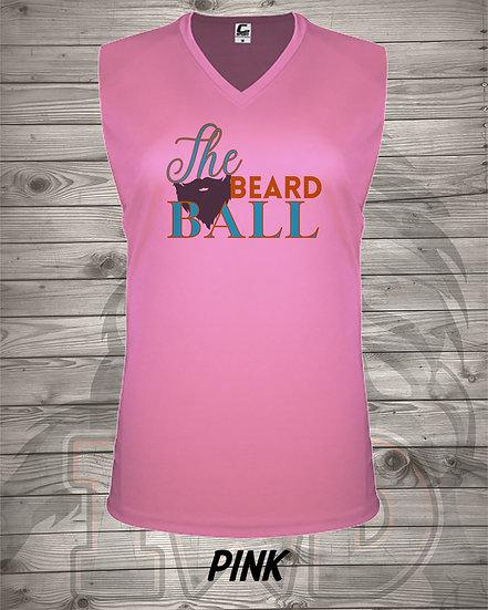 210601.1 - Queendom - The Beard Ball - Women's C2 V-Neck