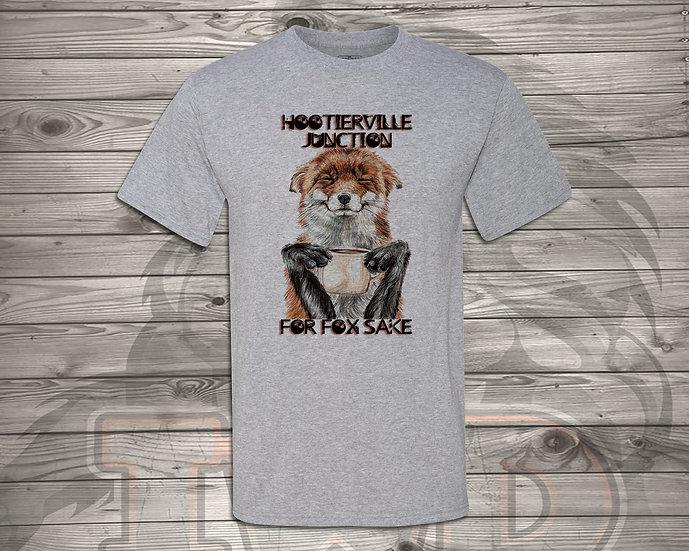 210618.5 - Hootiervile Junction - For Fox Sake - Unisex T-Shirt