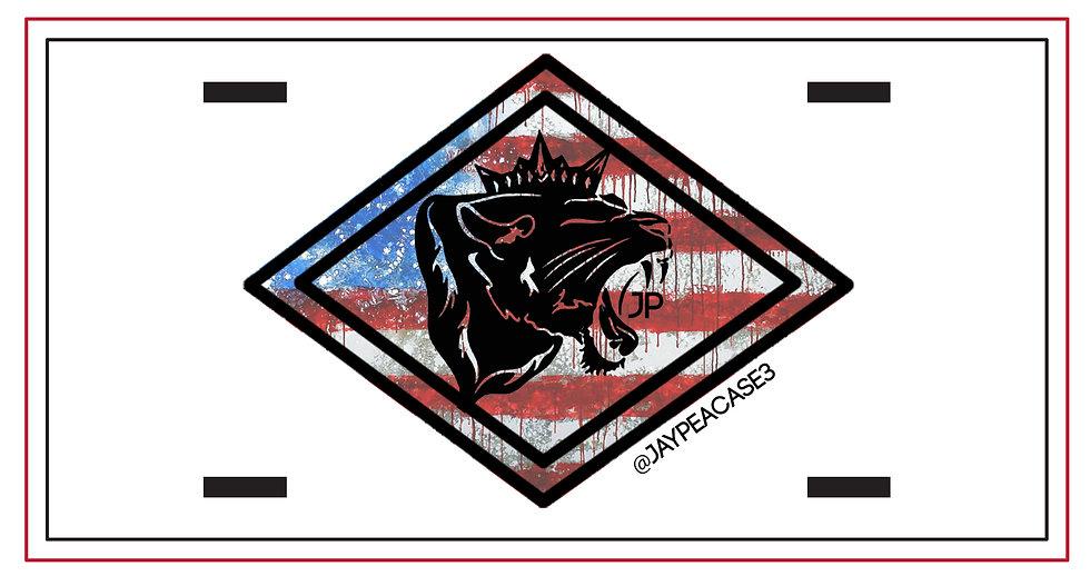 210519.2 - Lioness Metal License Plate - JP