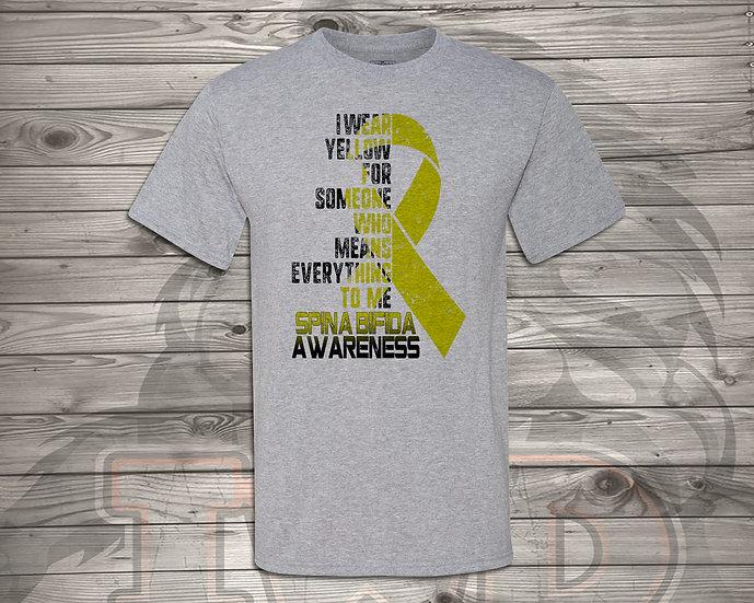 210702.2 - DaddyTrumpTrav - I Wear Yellow - Unisex Tshirt