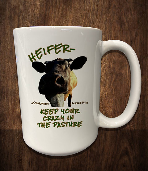 210511.4 Heifer Coffee Mug - Wright Family Farms