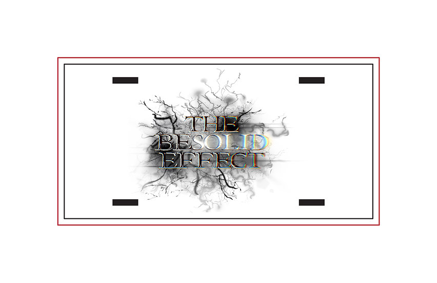 210326.1 - The BESOLD EFFECT - Metal License Plate