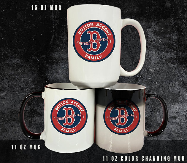 210315.1 - Boston Accent Family Mug (Three Options) - #THISISNTTINDAH