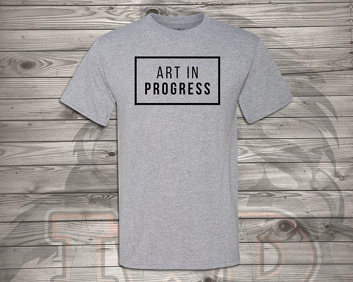 210810.4 - Art In Progress - Unisex T-Shirt