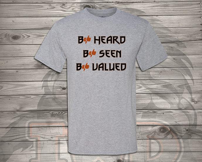 210910.2 - Clapper - Be Heard - Unisex T-Shirt