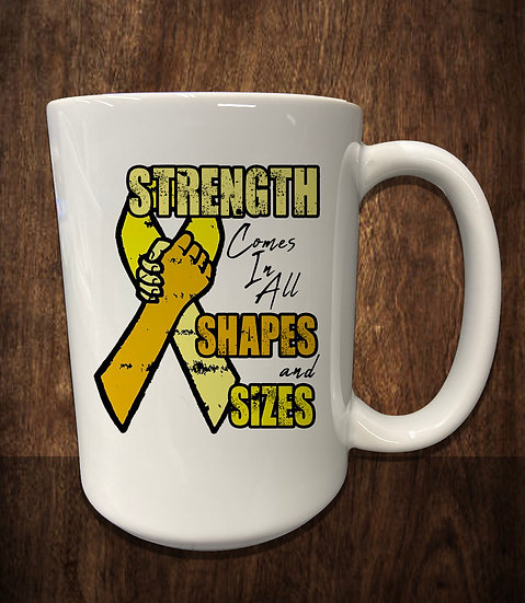 210520.2 - Strength Comes in All Shapes & Sizes - 15 oz Mug