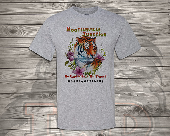 210618.2 - Hootiervile Junction - No Captivity - Unisex T-Shirt