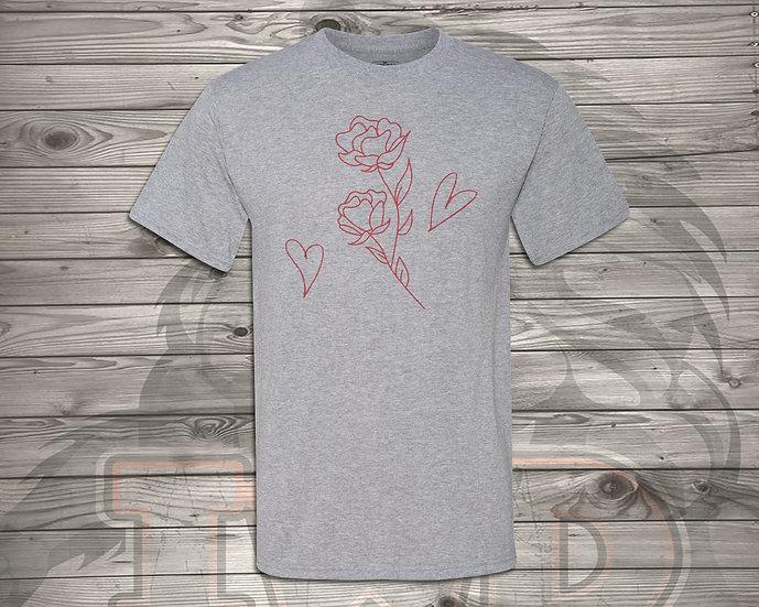 210810.3 Rose Art - Unisex T-Shirt