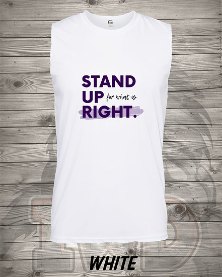 210609.4 - Stand Up - (Men's Tank)