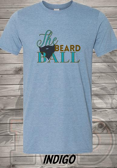 210601.1 - Queendom - The Beard Ball - Unisex T-Shirt