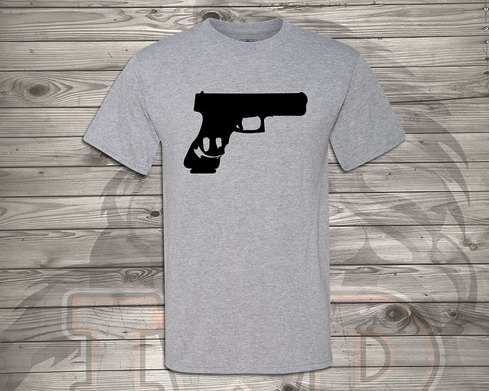 210826.7 Gun Smile - Unisex T-Shirt