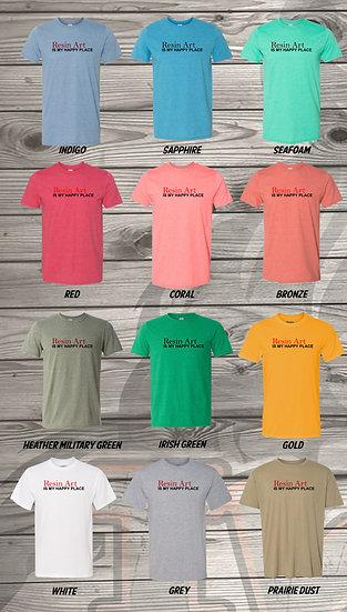 210515.10 - Resin Art - Crystal Spangler - Unisex T-Shirt