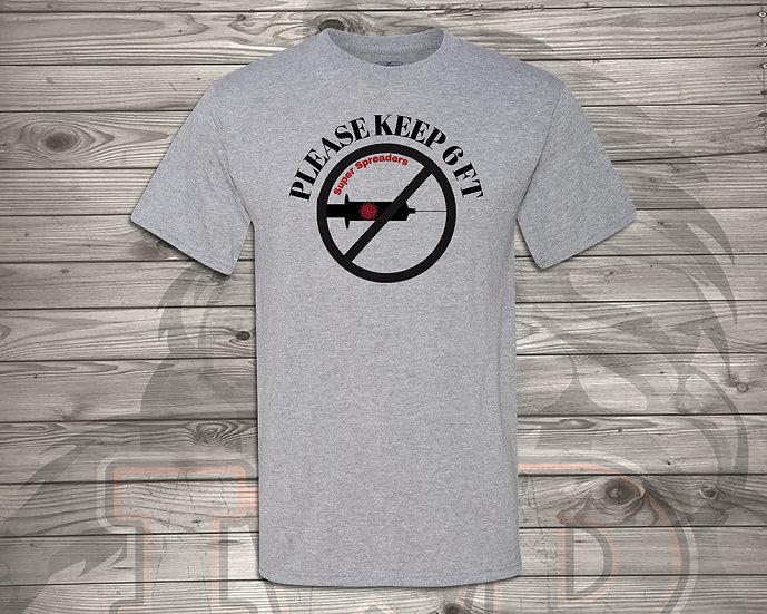 210803.3 - Please Keep 6 Feet - Unisex T-Shirt