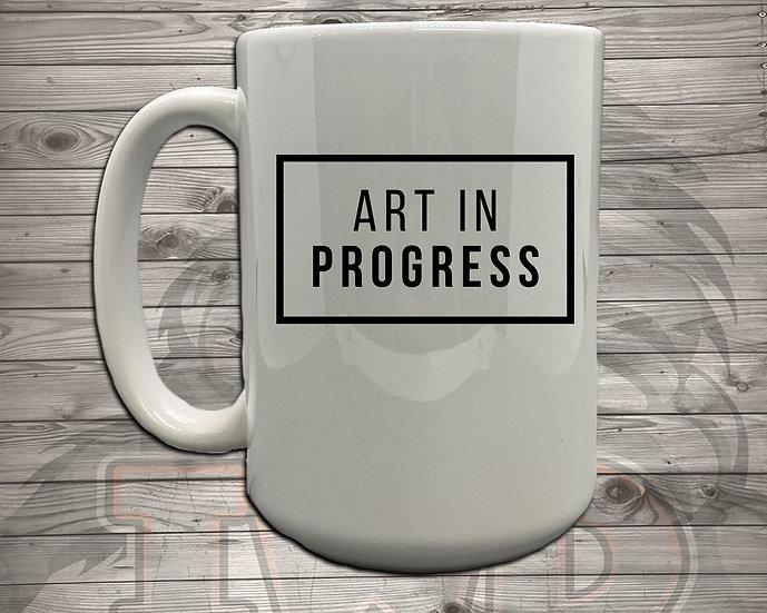 210810.4 - Art In Progress - 5 Styles of Mugs