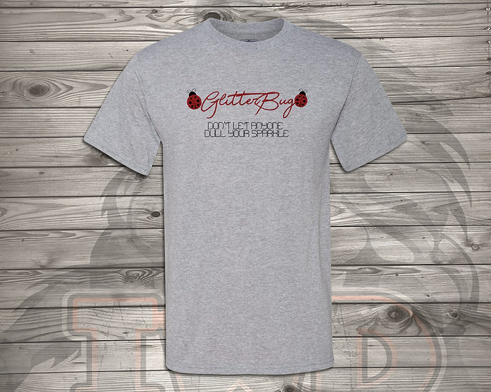 210702.1 - Glitterbug Logo- Unisex Tshirt