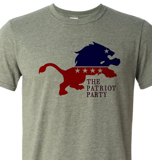 (201229.1) The New Patriot Party...  Lion