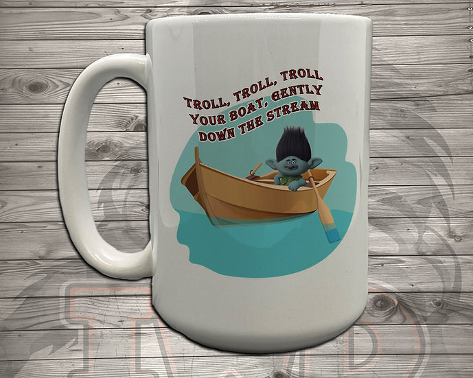 210810.1 - Troll, Troll, Troll - 5 Styles of Mugs