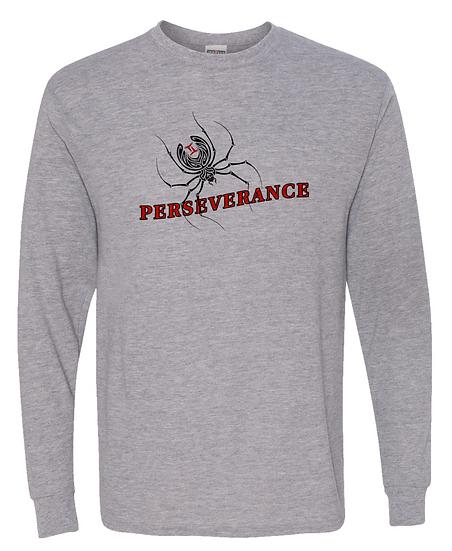 210324.1 Perseverance (@theblackspiderman) Long Sleeve T-Shirt
