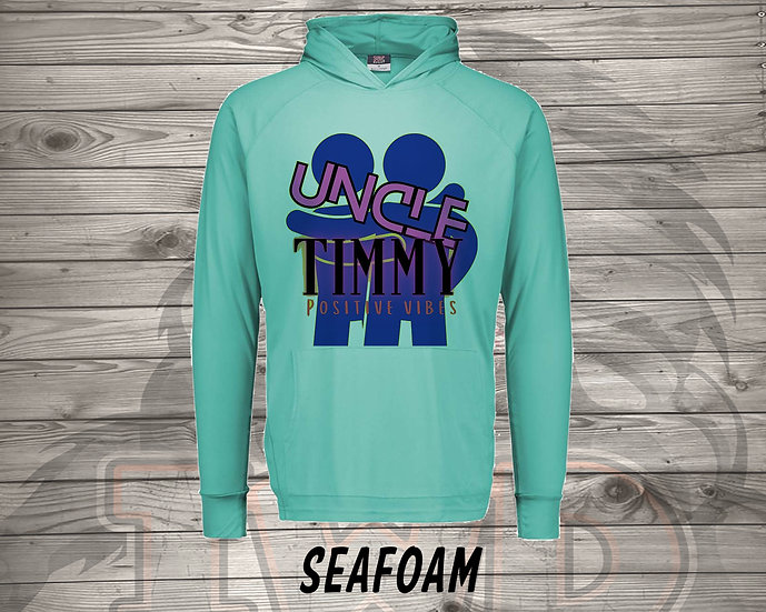210614.4 Uncle Timmy Logo  - Long Sleeve Hoodie