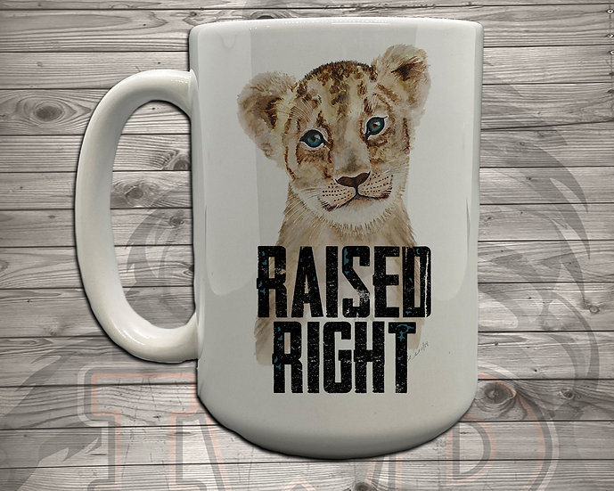 210824.3 - Raised Right Baby E - 5 Styles of Mugs
