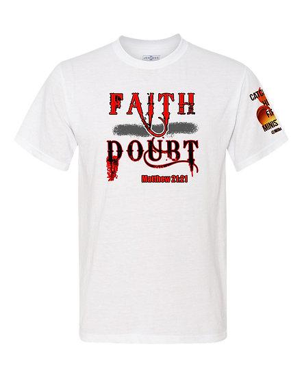 210609.5 Faith Over Doubt (With Sleeve Logo) - Unisex TShirt