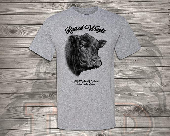 210705.1 - Wright Family Farms - Raised Wright V1 - Unisex Tshirt