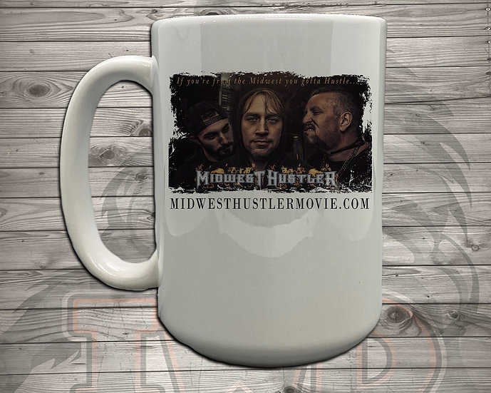 210621.9 Midwest Hustler - Quote Poster - 5 Styles of Mugs