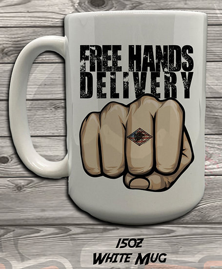 210615.8 - Hands Free Delivery - JP (Her Majesty) - 5 Styles of Mugs