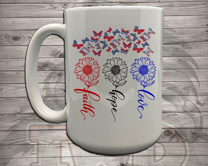 210706.7 - Faith, Hope, Love (RHR) - Coffee Mug