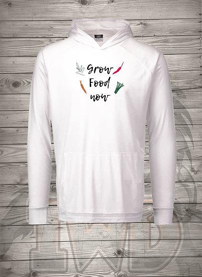 210608.8 - Victory Gardens - Grow Food Now - Long Sleeve Hoodie