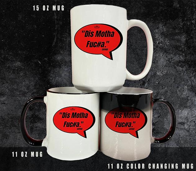210404.4 Coffee Cup (Queendom) - Dis Motha Fuc#a