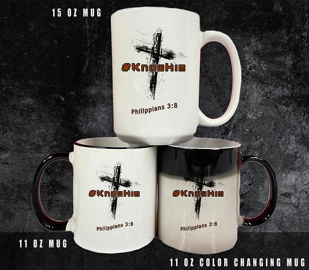 210602.5 - #KnowHim - Coffee Mug