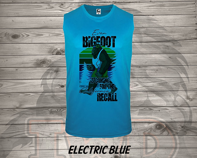 210714.1 Even Bigfoot is Coming to the RECALL - (Men's Tank)