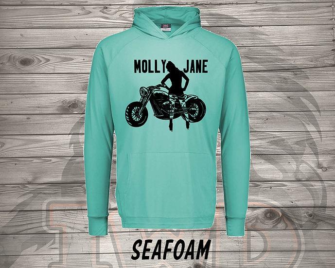 210715.1 Molly Jane Logo  - Long Sleeve Hoodie