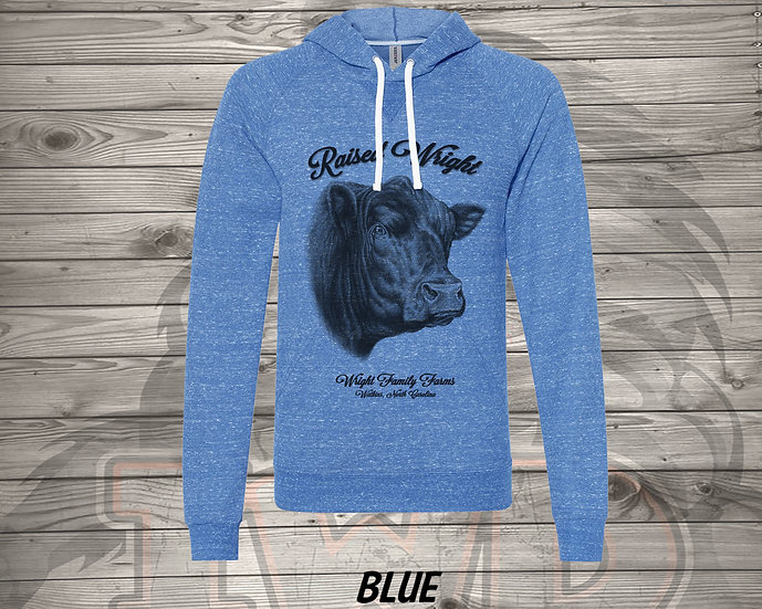 210705.1 - Wright Family Farms - Raised Wright V1 - Sweater Hoodie
