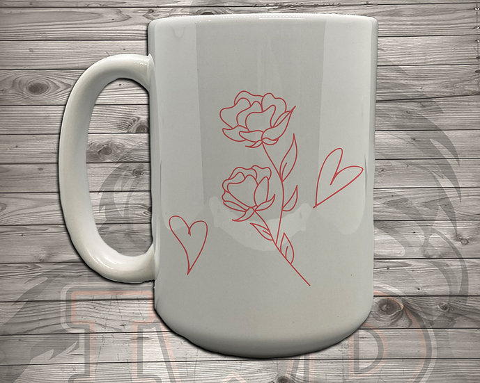 210810.3 Rose Art - 5 Styles of Mugs